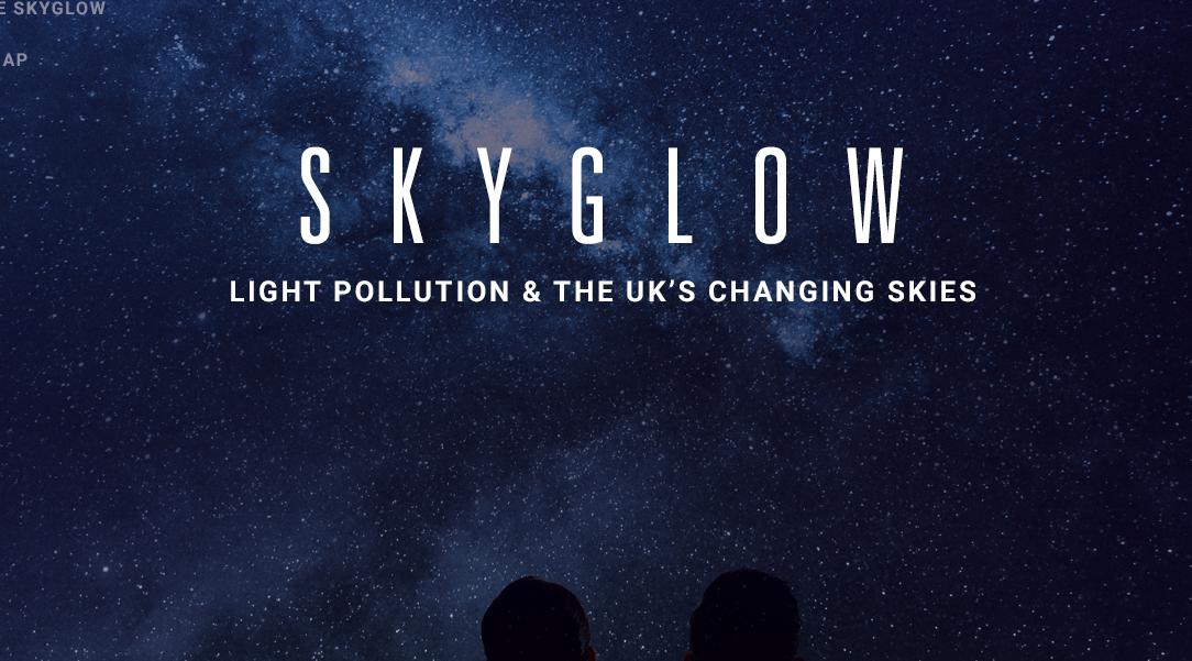 Skyglow - See light pollution across the UK   Hillarys
